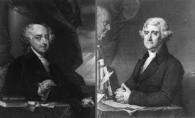 Presidents Adams and Jefferson Leadership