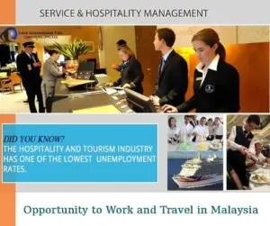 Service hospitality management
