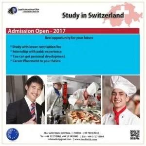 Study in swiss student