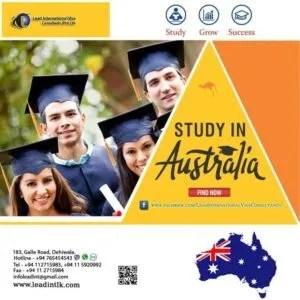 Study in Australia students