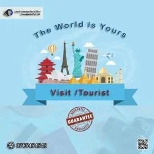 All Countries Visit Tourist Visa