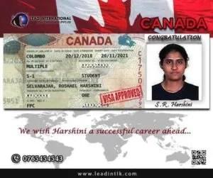 R Harshini Visa