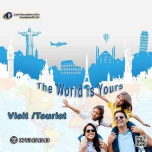 Visit or Tourist Visa All Countries
