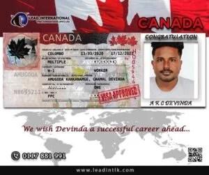 Successful Canada Visa Approval