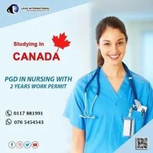Post Graduate Diploma in Canadian Nursing