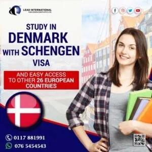 Study in Denmark with Schengen Visa