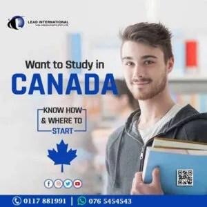 Canada study international visa