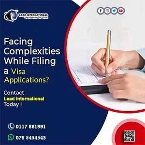 visa application for your visa