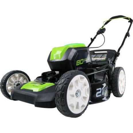 GreenWorks pro 80v 21 Lawn Mower GLM801602 Review