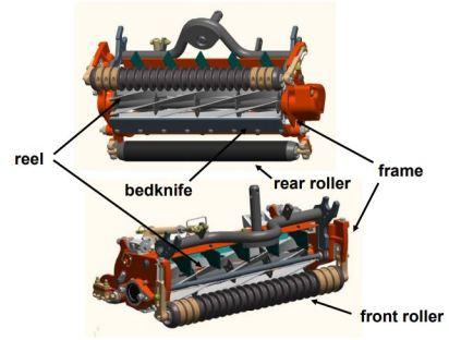 reel mowers parts