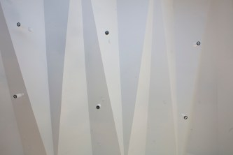 Lea Fields Crematorium - view of the chapel ceiling