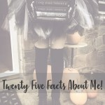 twenty five facts about me cover image