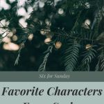 favorite characters from series cover image