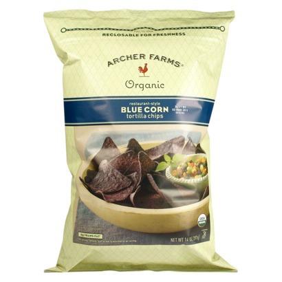 Archer Farms-Organic Blue Corn Tortilla Chips