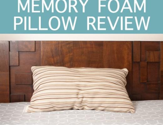 Essentia Organic Latex & Memory Foam Pillow Review