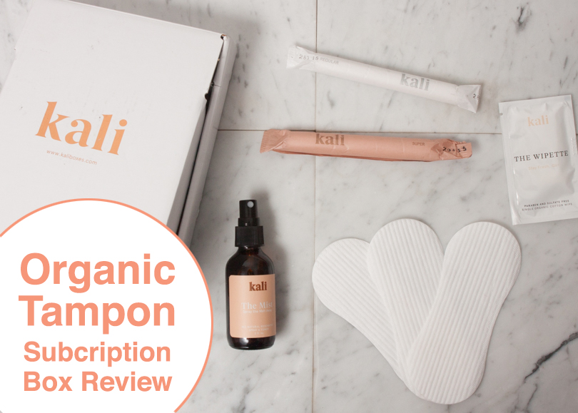 Kali Organic Tampons Subscription Box Review at Leafygreen.info