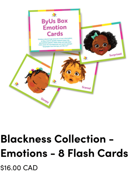 Byus is a subscription box for kids, helping parents raise anti-racist and inclusive kids.