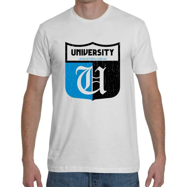 university football club vintage t shirt