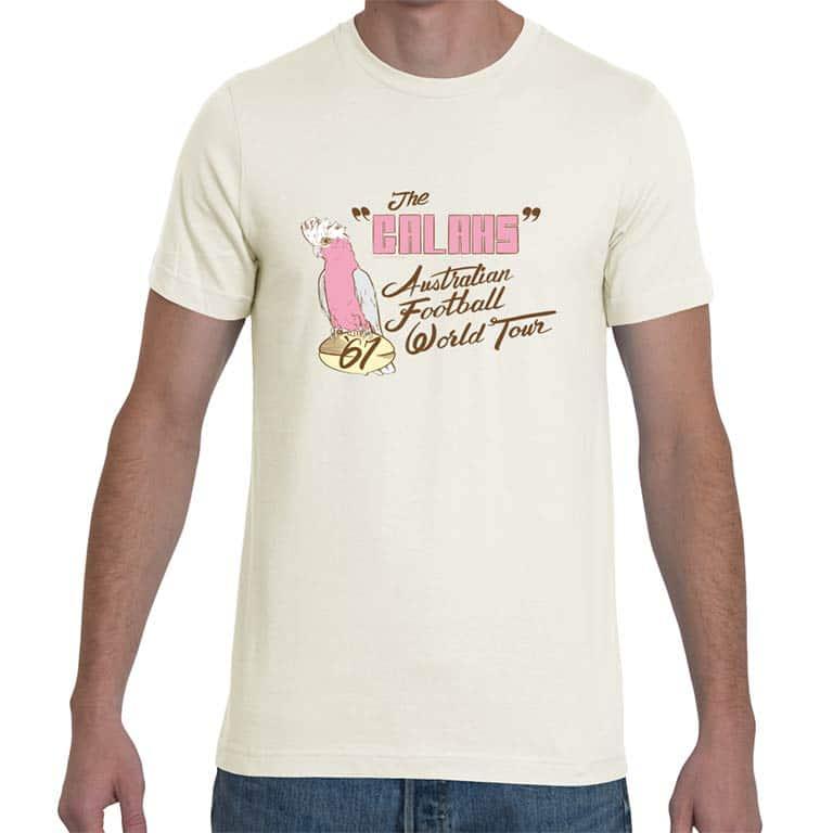 7aa68e0a24d6 Home   Vintage T-Shirts   The Galahs 1967 football tour t-shirt