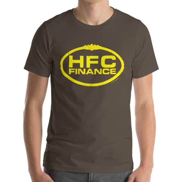 HFC finance retro footy jumpers