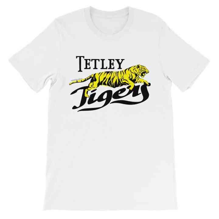 Tetley tigers retro-footy t-shirt white