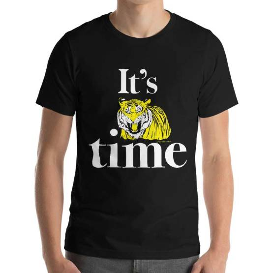 tiger time retro footy shirts