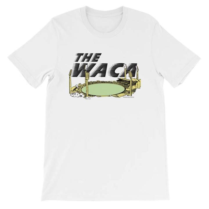 the waca cricket ground white tshirt