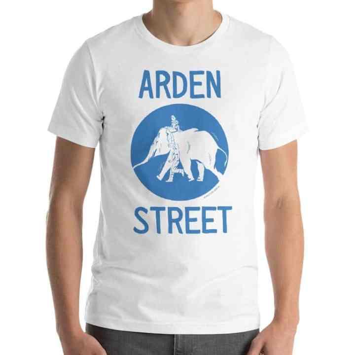 arden street elephant tshirt