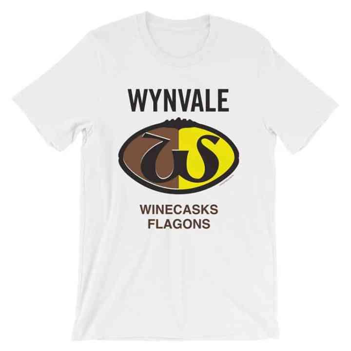 Wynvale retro footy tshirt white