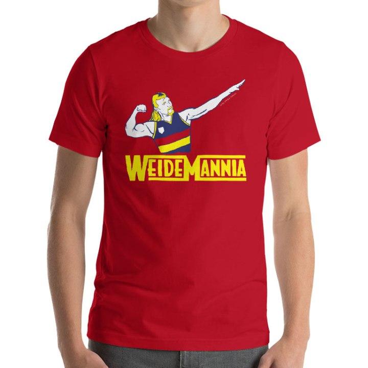 wayne weidemann adelaide t-shirt