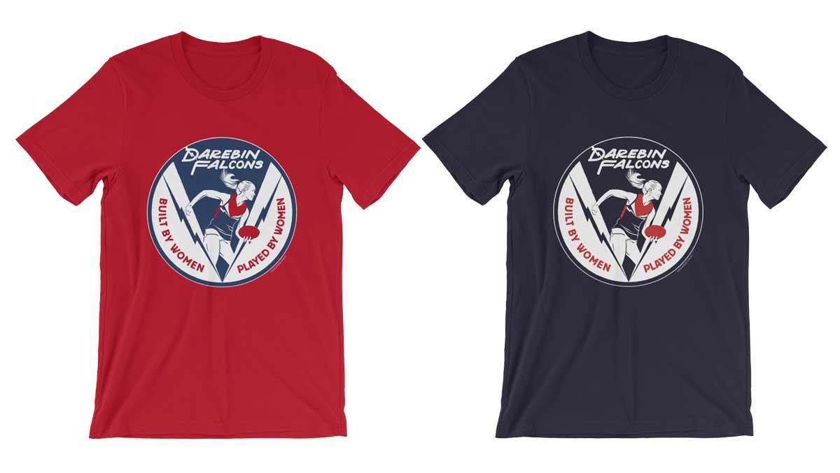 darebin falcons tshirts