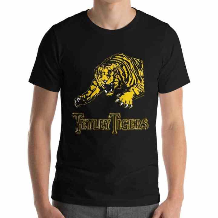 tetley tigers retro footy jumpers