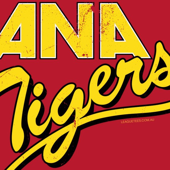 Melbourne Tigers 1984 throwback shirt