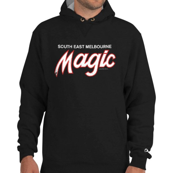 magic south east melbourne basketball champion hoodie