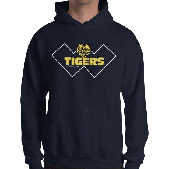 claremont tigers football hoodie