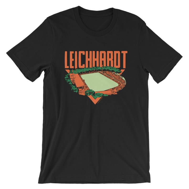leichhardt oval t-shirt black