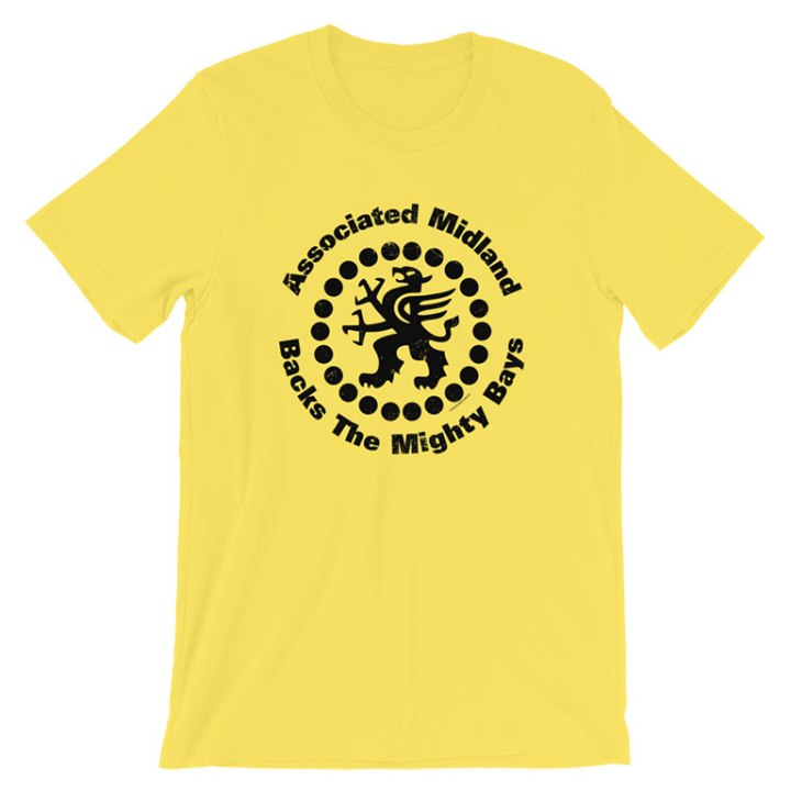 glenelg associated midland sponsor t-shirt yellow