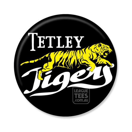Tetley Tigers badge