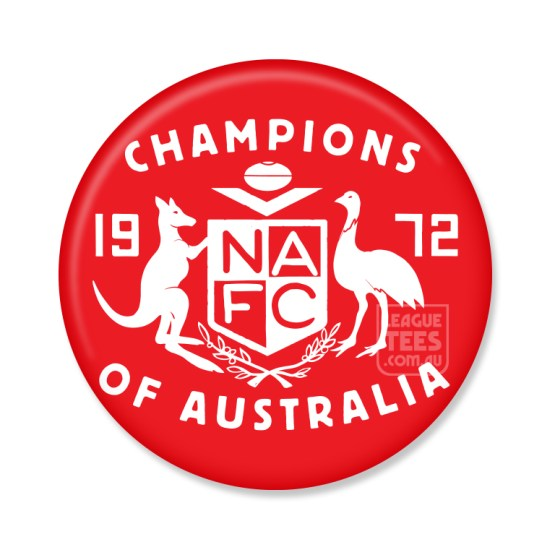 north adelaide vintage football badge