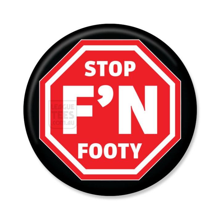 stop FN footy badge