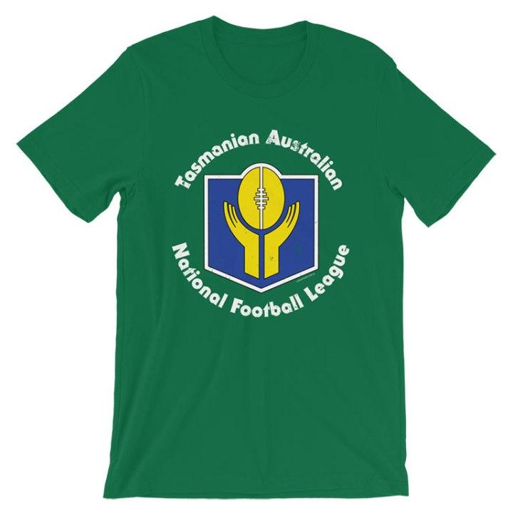 tasmanian football shirt green