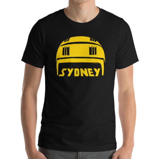 sydney stack hat shirt
