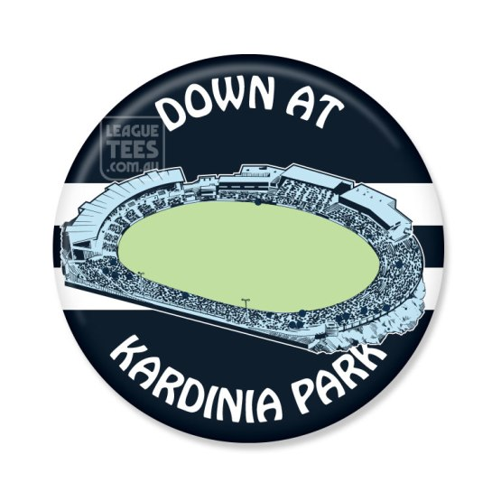 Kardinia Park vintage football badge