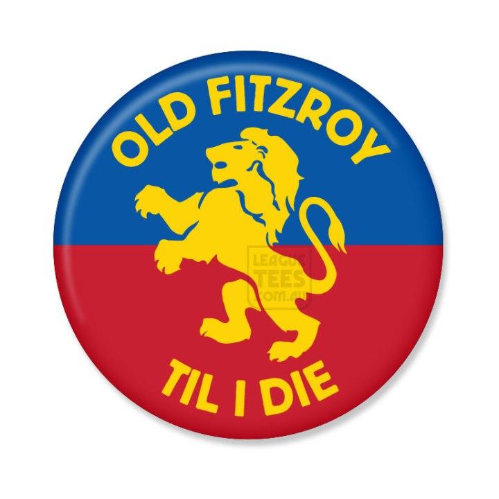 fitzroy football club vintage badge
