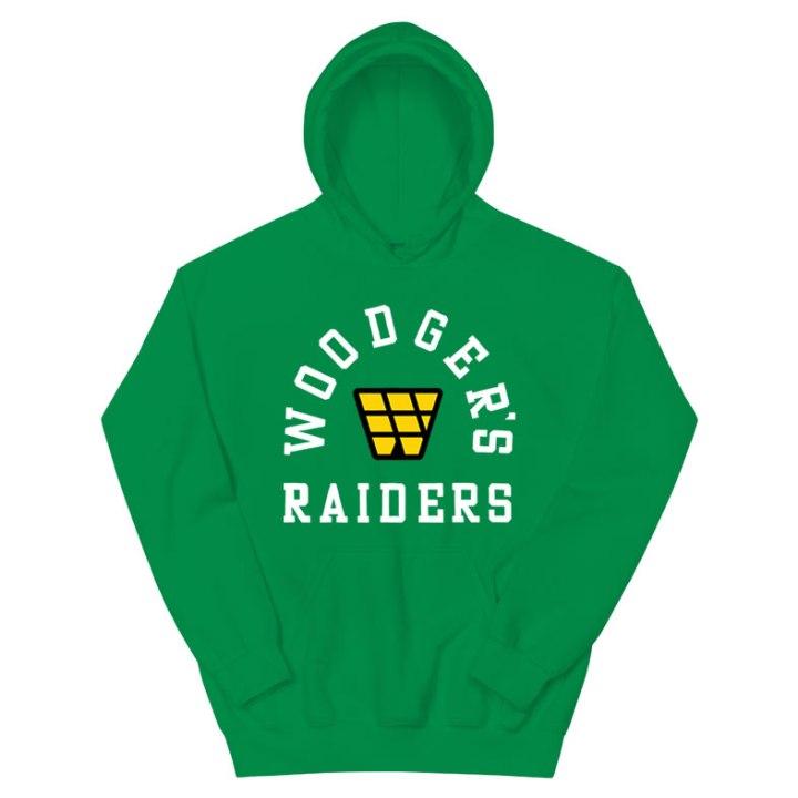 raiders retro hoodie