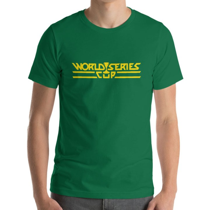 world series cup cricket t-shirt