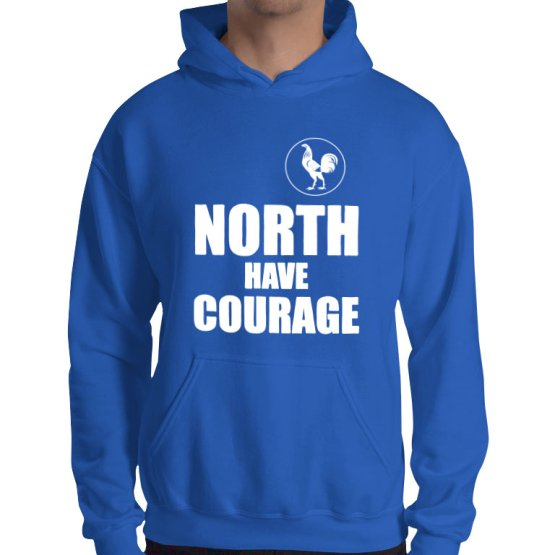 north have courage footy hoodie
