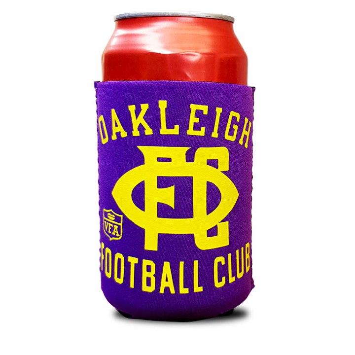 oakleigh football club stubby holder