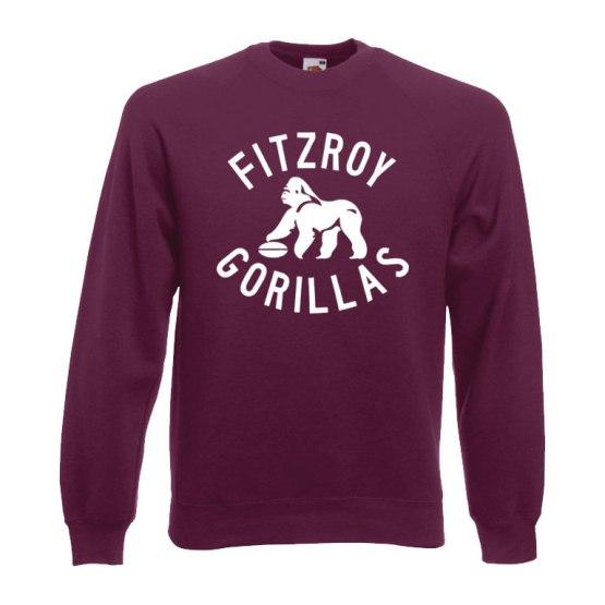 fitzroy gorillas retro sweatshirt
