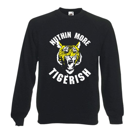 tigerish football sweatshirt